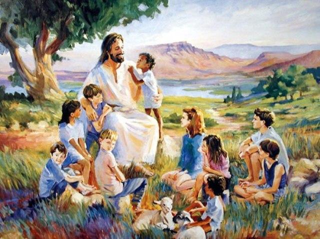 Jesus loves the little children - Catholic Sistas